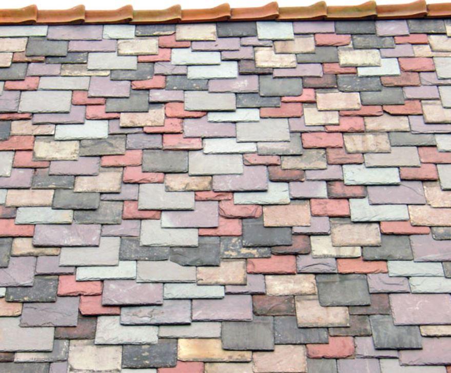 mosaic roofing slate