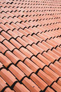 Orange clay roof